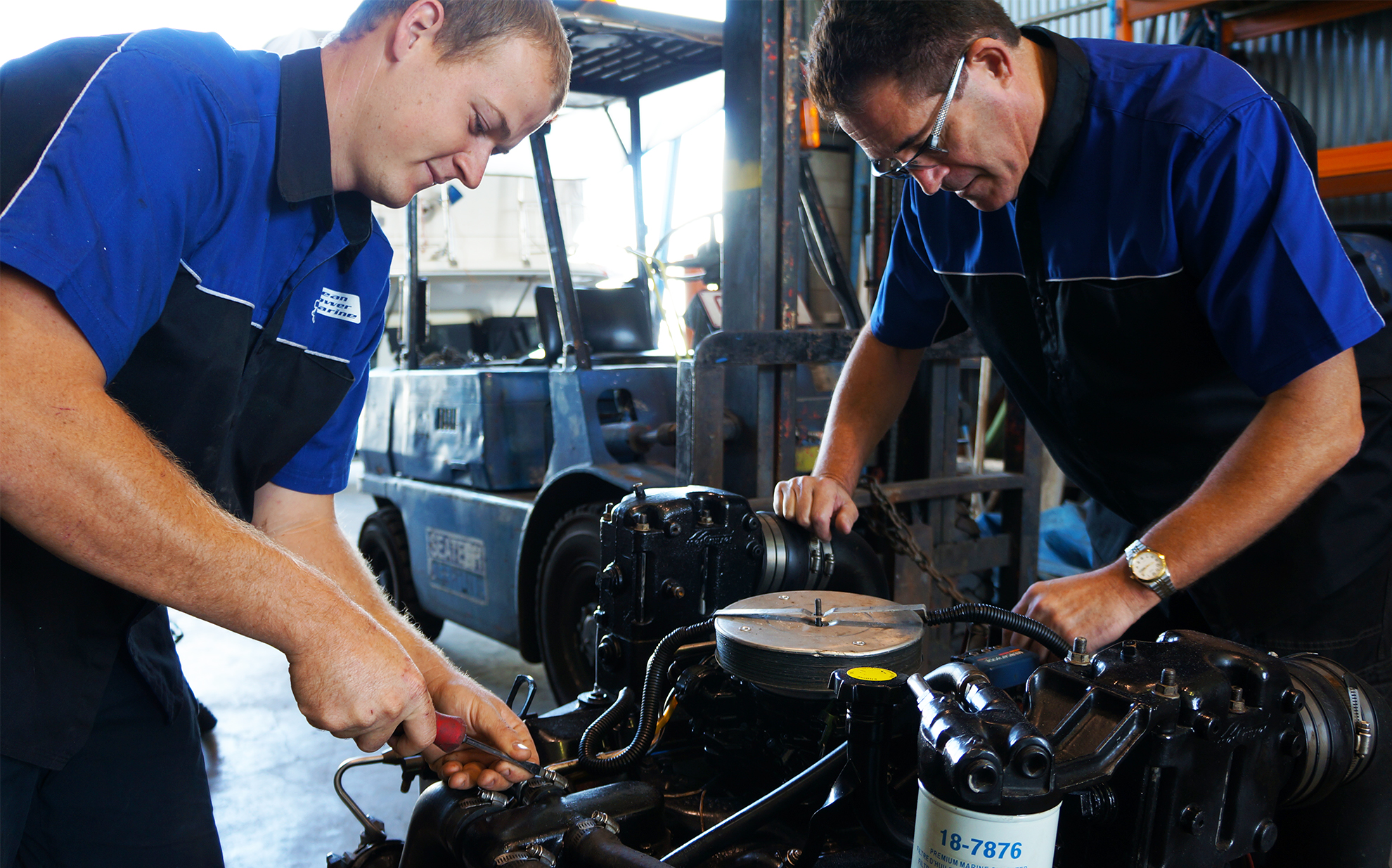 Auto Mechanics vs Marine Mechanics