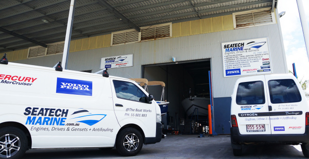 SeaTech Marine Mobile Vans
