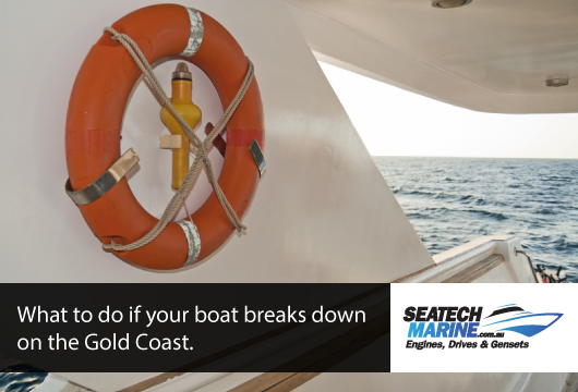What to do if your boat breaks down on the Gold Coast