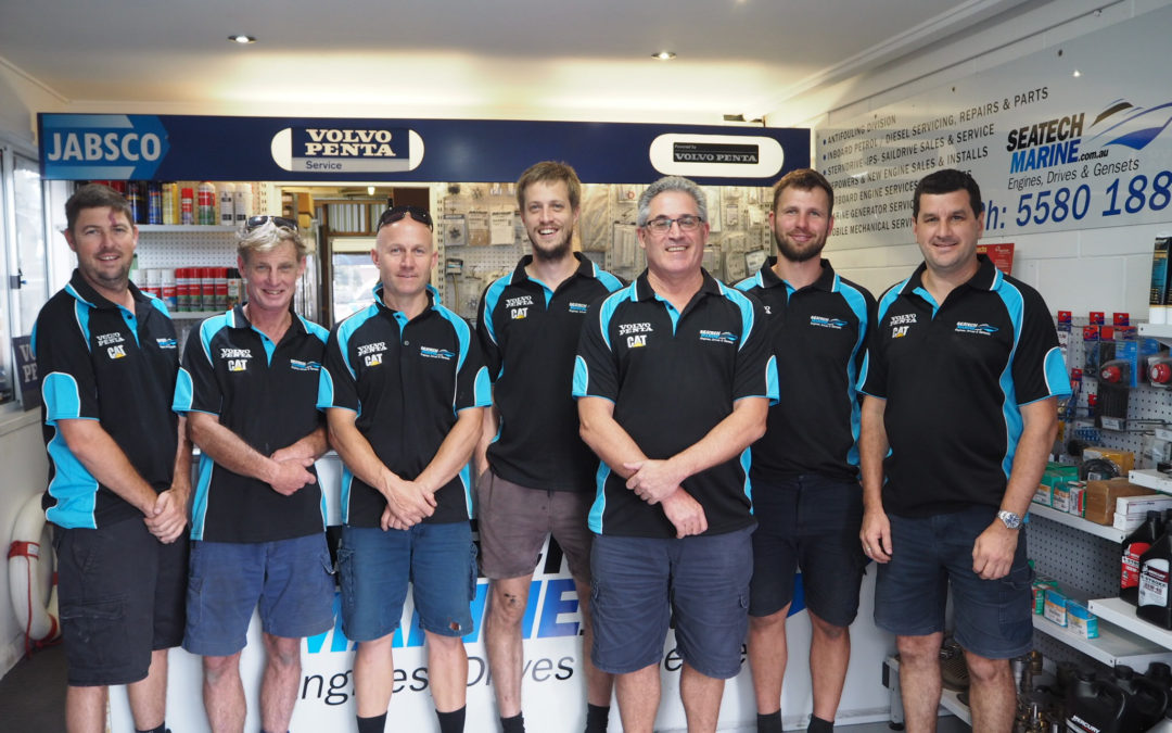 The Seatech Marine team – experience, expertise and unbeatable service.