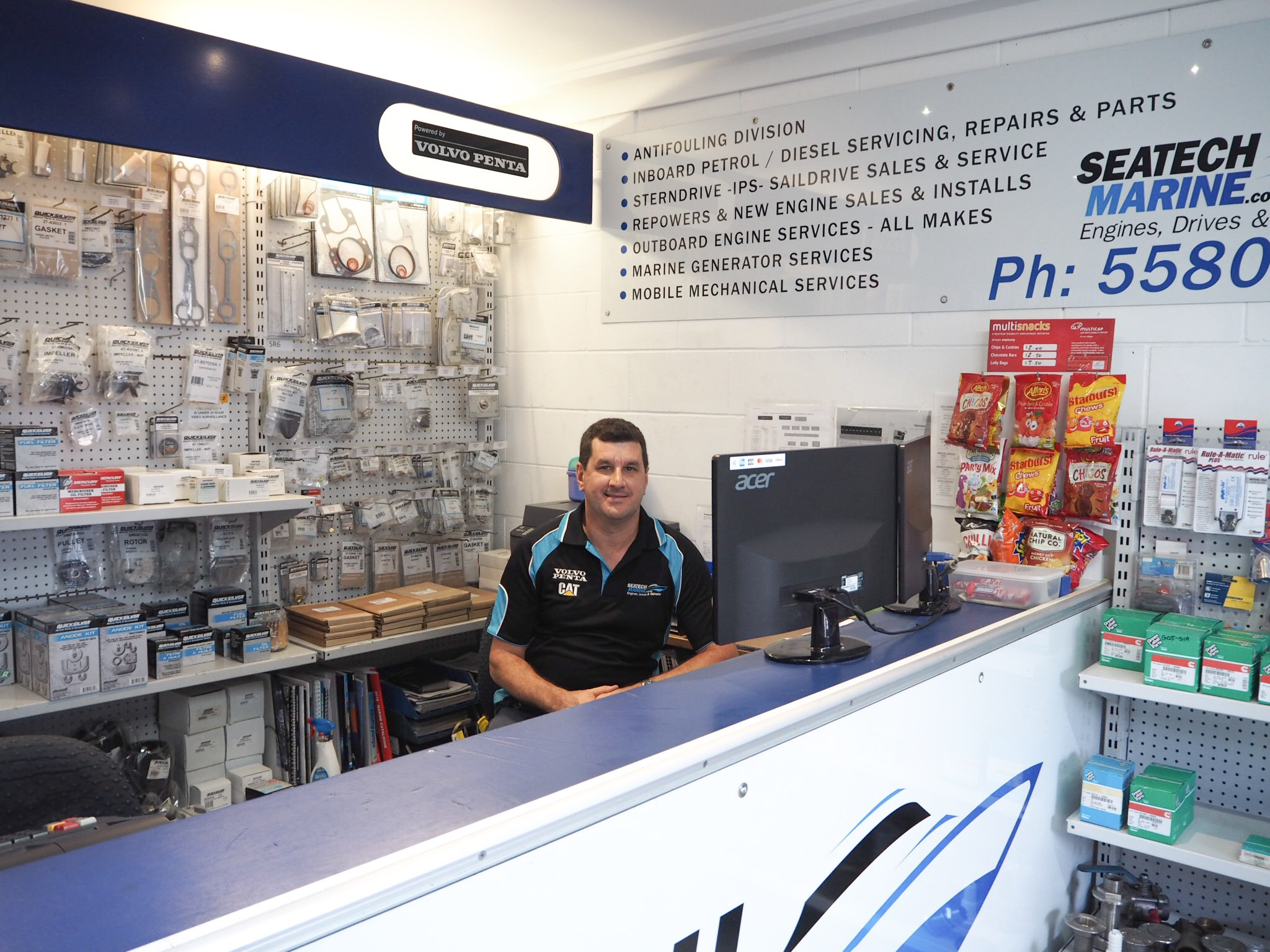 Meet Jon Southall, our Parts Manager