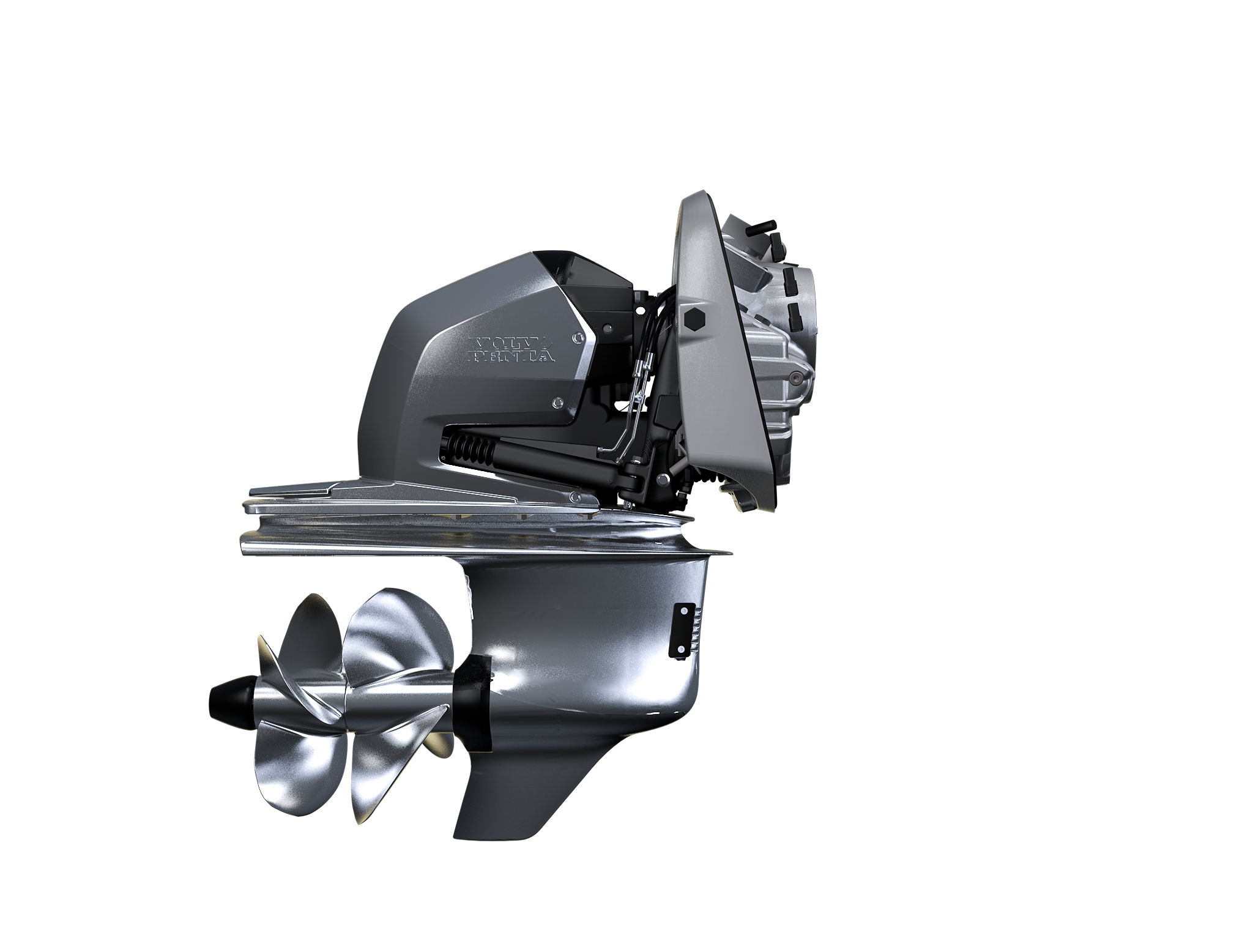 Volvo Penta launches new Aquamatic sterndrive (DPI) technology