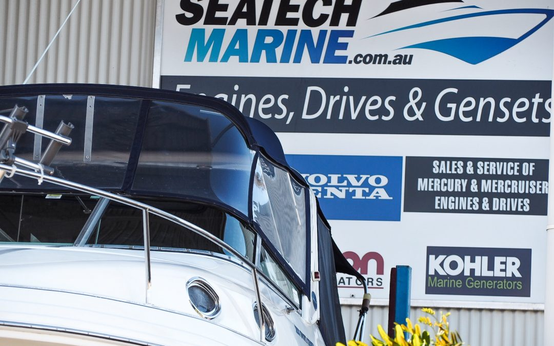 Servicing Mustangs at Seatech Marine