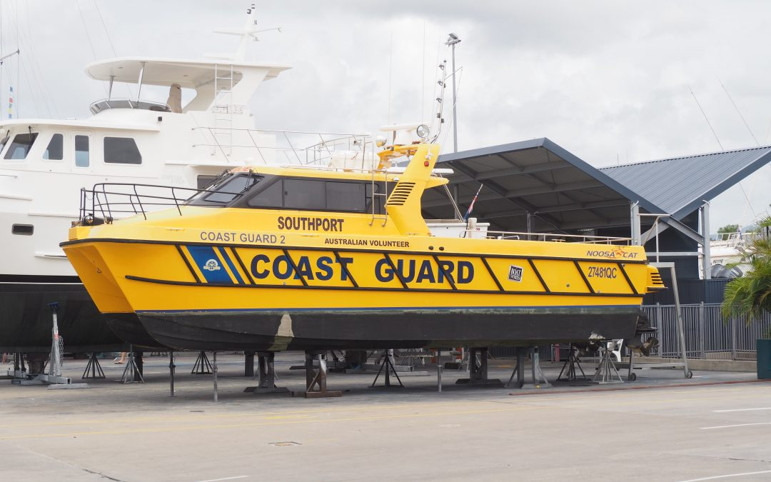 Servicing the Southport Volunteer Coast Guard boats