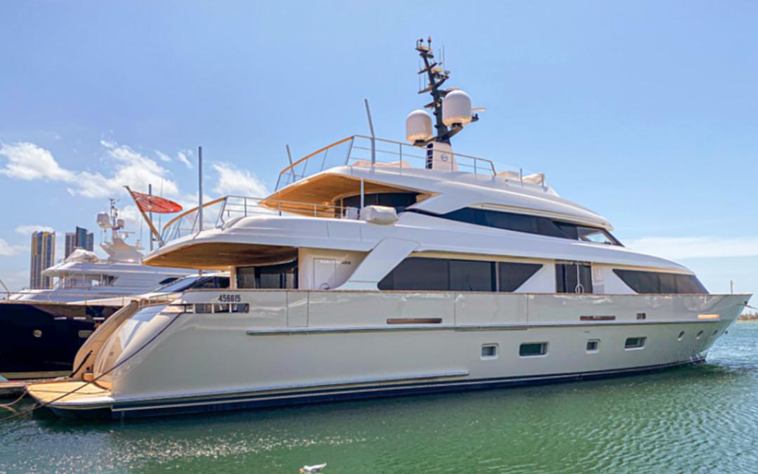 Trophy Wife – 112-foot luxury yacht